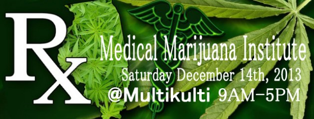 Medical Marijuana Institute – FREE CLASS – Sat. Dec. 14th